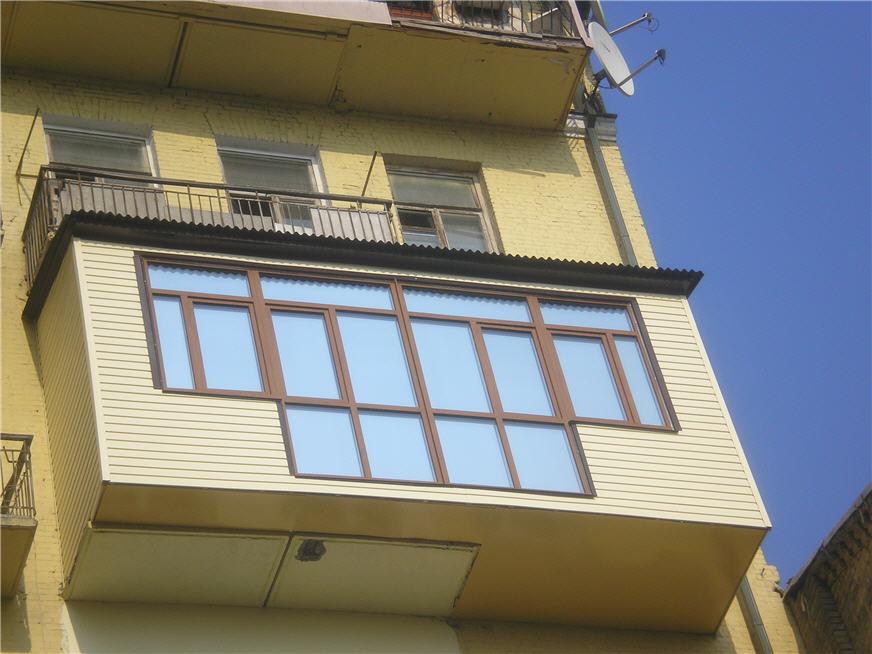 Как сделать балкон пристрой.